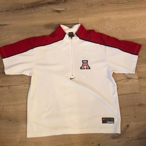 Nike Team Arizona Basketball Shooting Shirt L